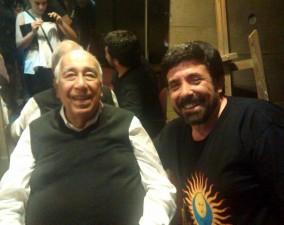 Con Manólo Juarez
